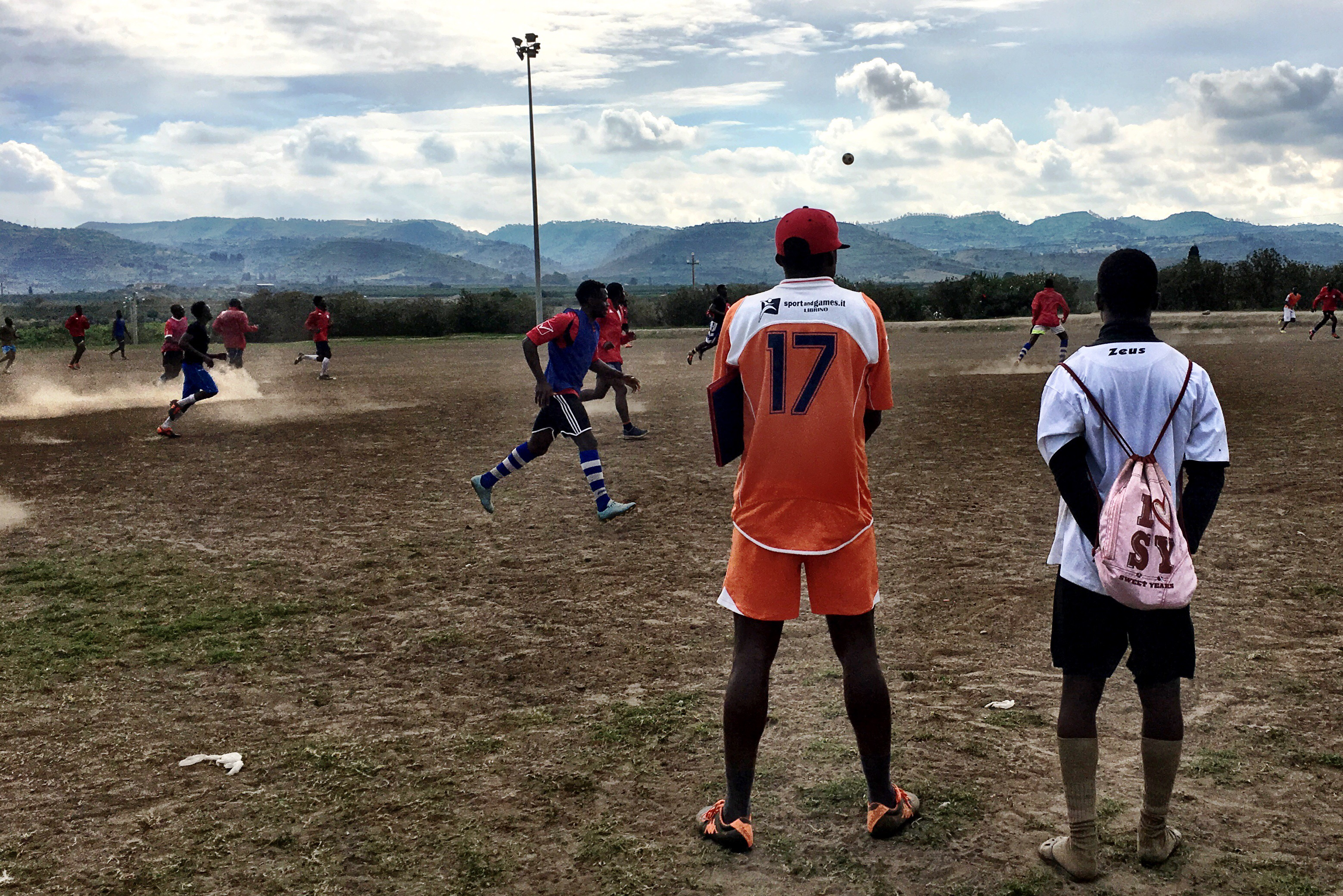 Recherche über Flüchtlinge in Catania – Knut-Krohn-Blog